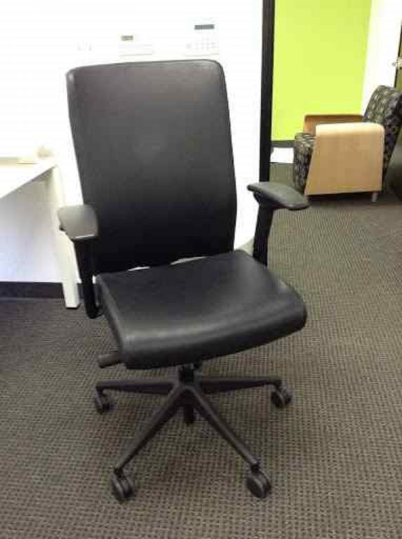 used office chairs allsteel scout conference chair at