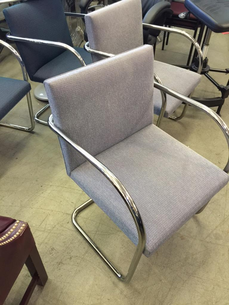 Used Office Chairs Tan Knoll Brno Chairs At Furniture Finders