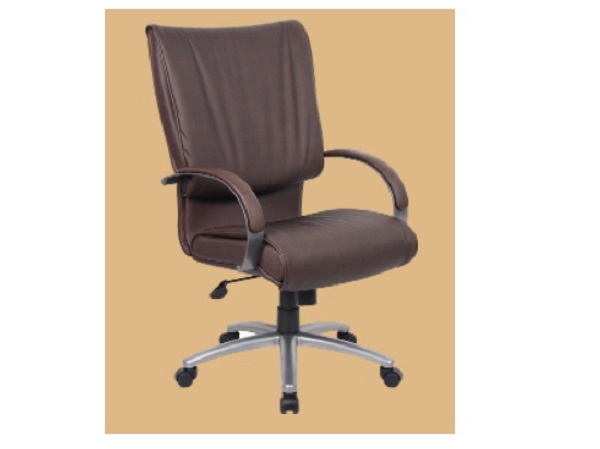 New Office Chairs B9701p Bomber Brown Management Seating