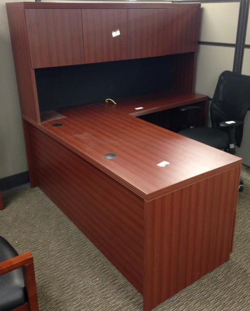 Furniture Finder: Used Office Desks : Lacasse L Shape Office Desk At