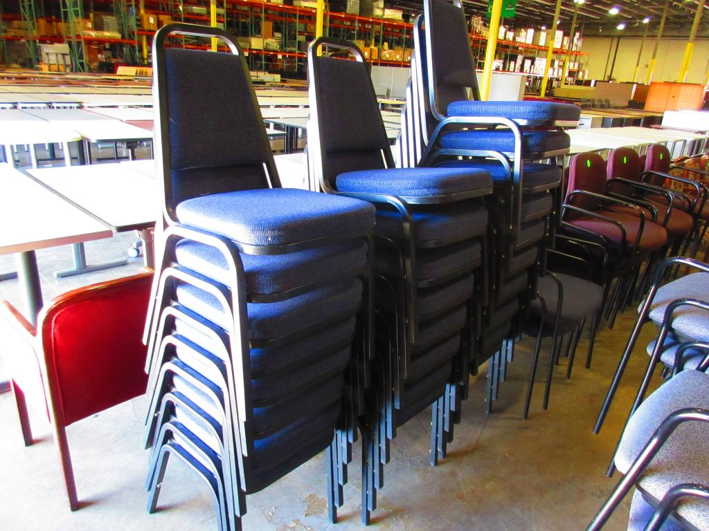 Used Office Chairs Blue Banquet Chairs At Furniture Finders