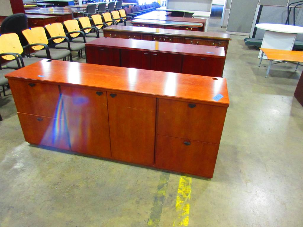 Used Office File Cabinets National Credenzas At Furniture Finders