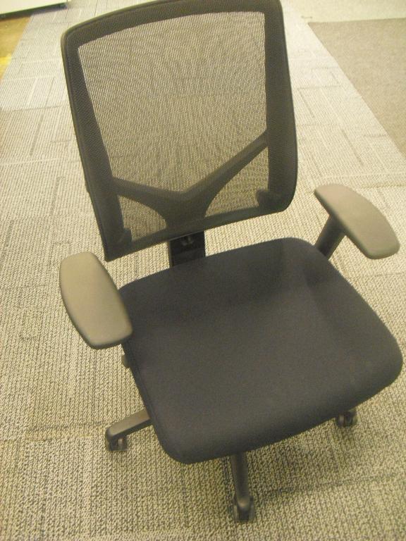 Refurbished Office Chairs AllSteel Mesh Back Task Chair Refurbished At Furn