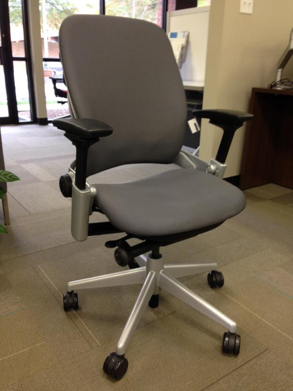 Used Office Chairs Steelcase Leap V2 Platinum At