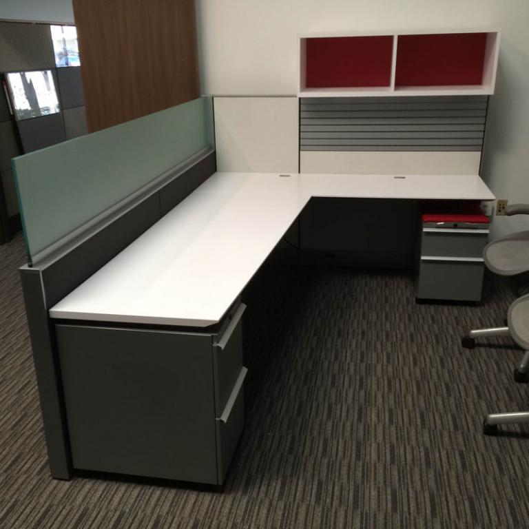 Used Office Cubicles Knoll Autostrada Cubicle Work