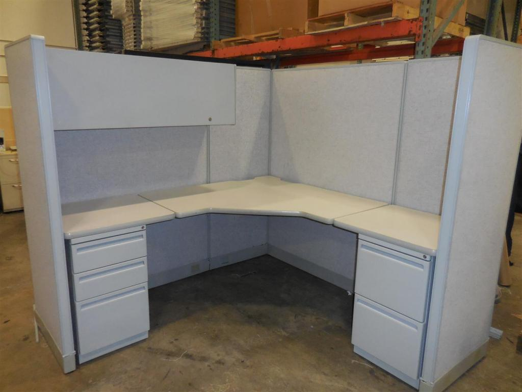 used office cubicles haworth unigroup in miami at furniture finders. Black Bedroom Furniture Sets. Home Design Ideas