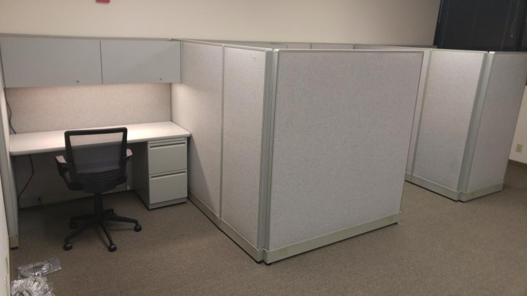 Used Office Cubicles Haworth Unigroup In Miami At