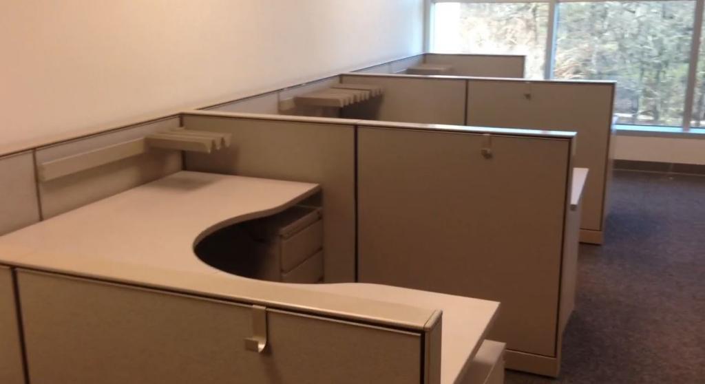 Used Office Cubicles REALLY Nice Herman Miller Vivo 6x6