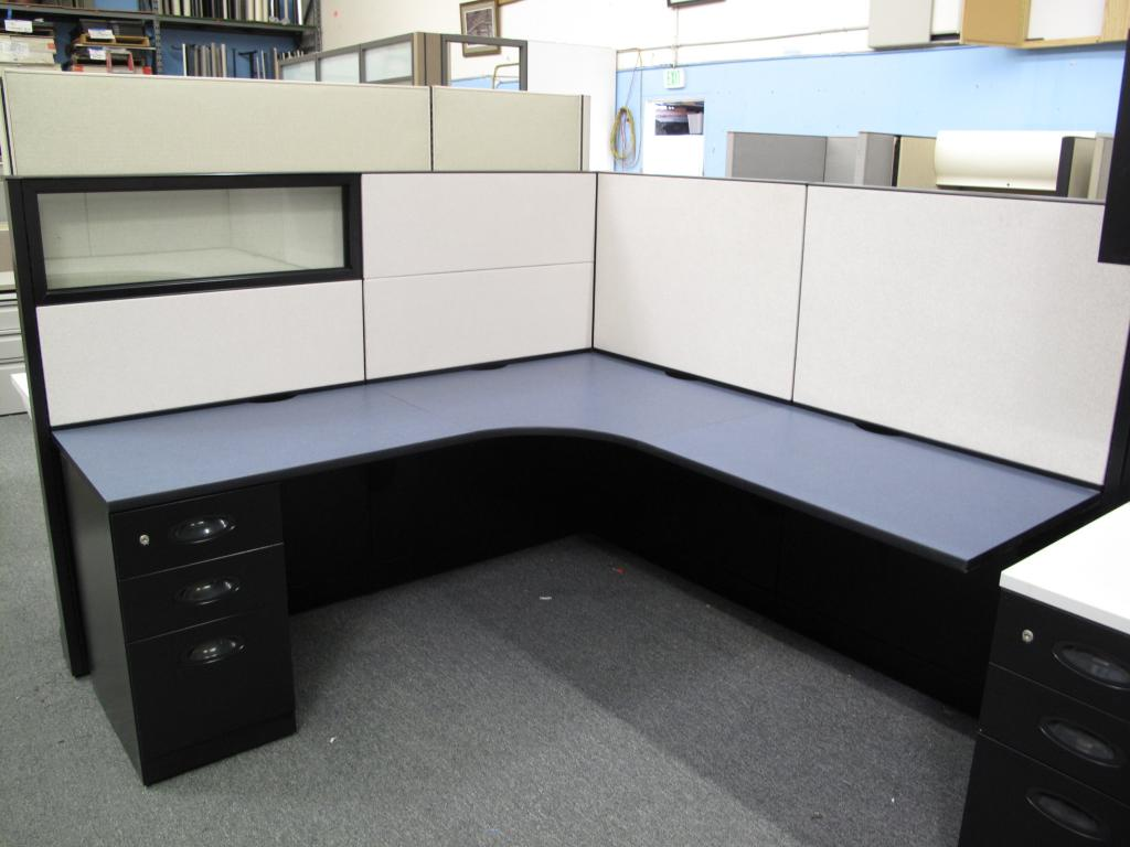 Used Office Cubicles Steelcase Answer 54 Quot Tall Office