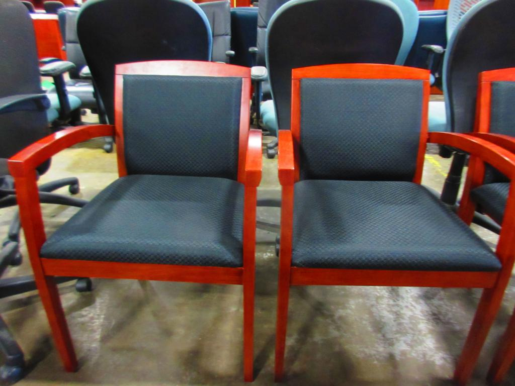 Used Office Chairs Cherrywood Guest Chairs At Furniture Finders