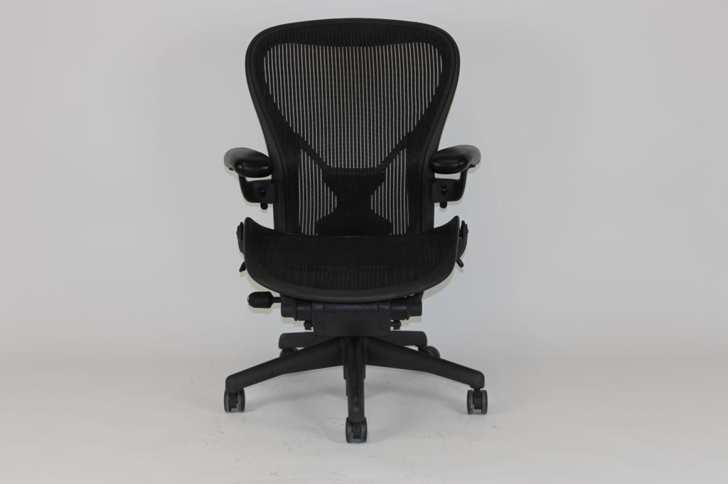 Refurbished Office Chairs Herman Miller Aeron Size C At Furniture Finders
