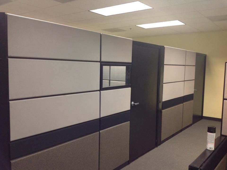 Used Office Cubicles Teknion Tos Cubicles 80 Inch Tall