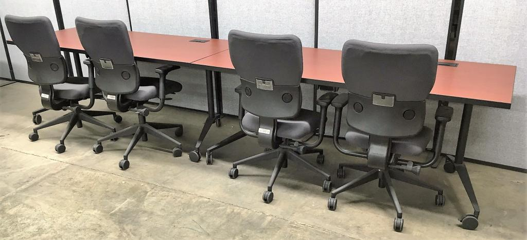 Used office conference tables berco nesting training