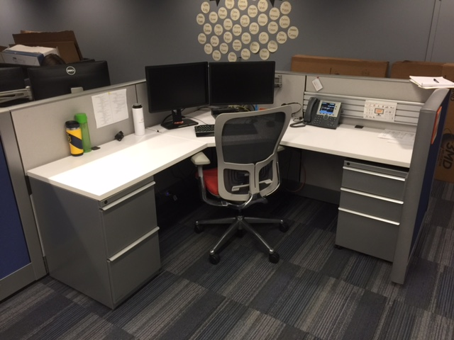 Used Office Cubicles Used Knoll 6x6 Cubicles In St