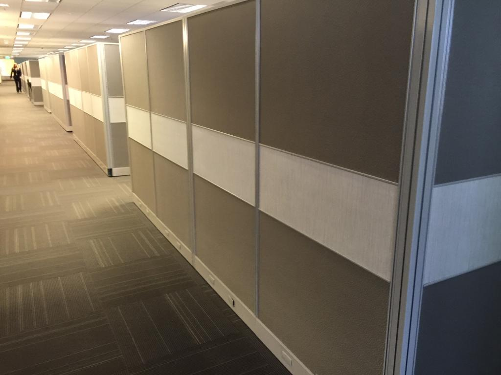 used office cubicles hon initiate cubicles at furniture finders