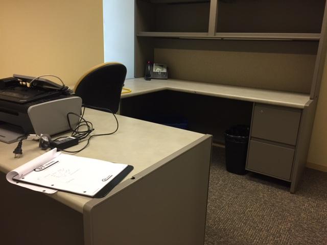 Used Office Desks Used Steelcase 9000 U Shape Desk At