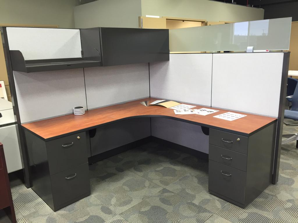 Used Office Cubicles Refurbished Steelcase Answer