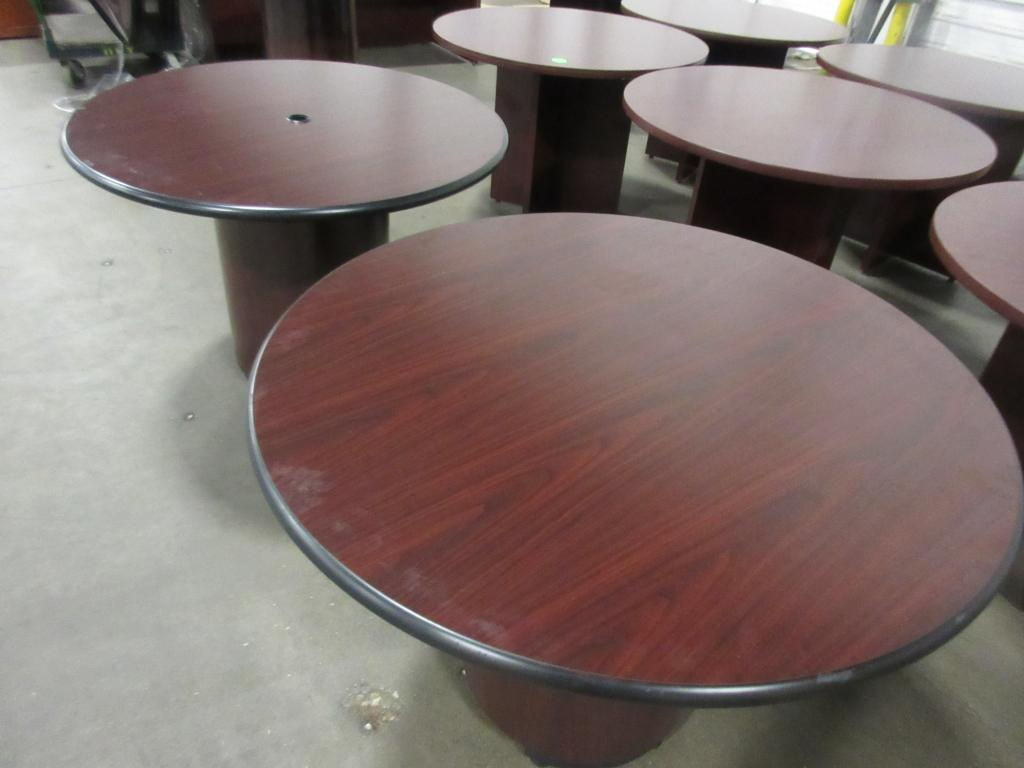 Used Office Conference Tables Used Mahogany Round