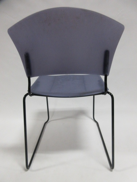 office chairs izzy design jazz stacking chairs in blue at furniture