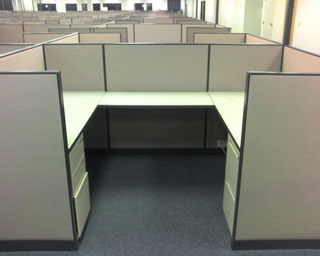 Used Office Cubicles Harpers 5x8 And 5x6 Used Cubes At