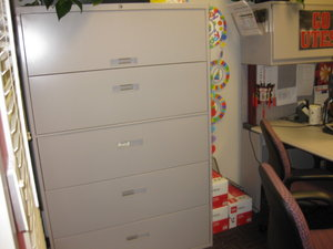 Used Lateral File Cabinets by Steelcase - click to see full size photo