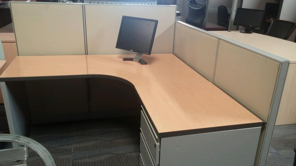Used Office Cubicles Many Pre Owned Cubicle Options At