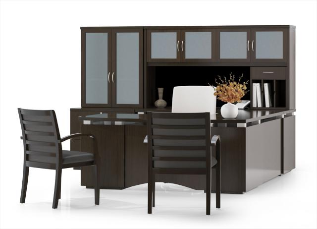 New Office Desks Avenue Series Wood Desks At Furniture Finders