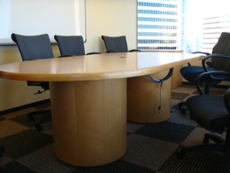Maple Conference Room Table