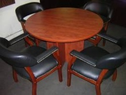 Round Conference Tables - New!