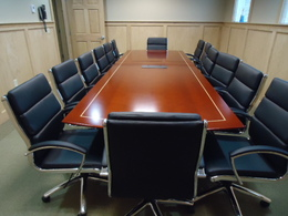 NEW 12' Veneer Conference Room Table