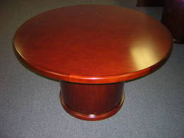 Marquis Veneer Round Conference Table - New!