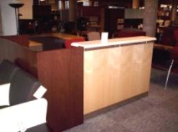 Close Out on Reception Desks - Sale Pricing