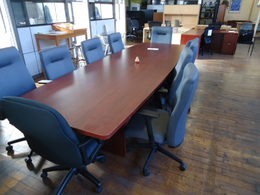 **NEW** 10' Cherry Laminate Conference Table