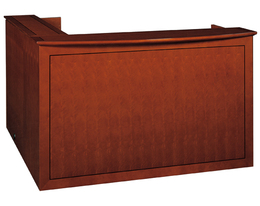 Emerald Veneer Reception Desk