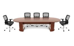 Emerald Veneer Conference Tables