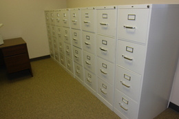 Vertical and Lateral File Cabinets