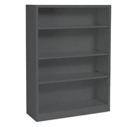 "Hon 4-High 36""W Metal Bookcase"