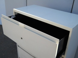 Steelcase 4-Dr Lateral Files-Individual Locks