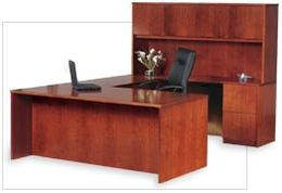 Office Desks / Transitional Veneer Furniture