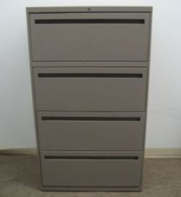 Allsteel 4 Drawer lateral files