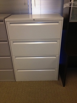 "4 Drawer Lateral File Cabinets 36"" Wide"