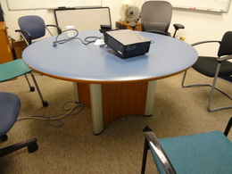 Round Conference table