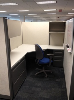 "Steelcase Answer 8 x8  Cubicles  66"" High"