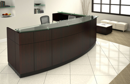 Willow Modern Reception Desk Series