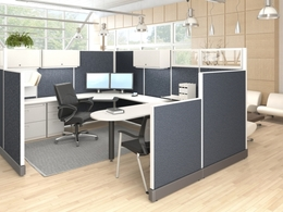 Friant System 2 Office Cubicles