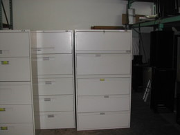 Used Lateral Files and Other Storage
