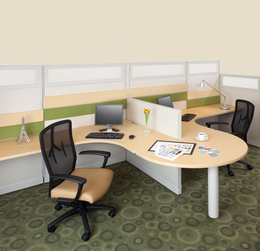 Haworth Refurbished Cubicles