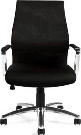 Offices to Go Mesh Back Black Managers Chair