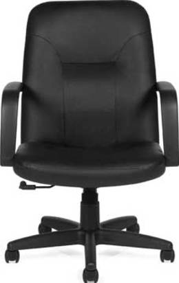 Offices to Go Luxhide Manager's Task Chair