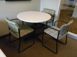 Round Conference/Cafe Tables